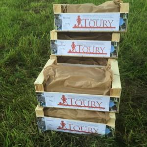 Récolte de printemps du Domaine de Toury