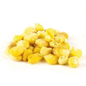 Maïs lyophilisé