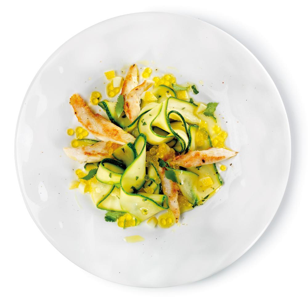 poulet-courgettes-perles-citron-poivre