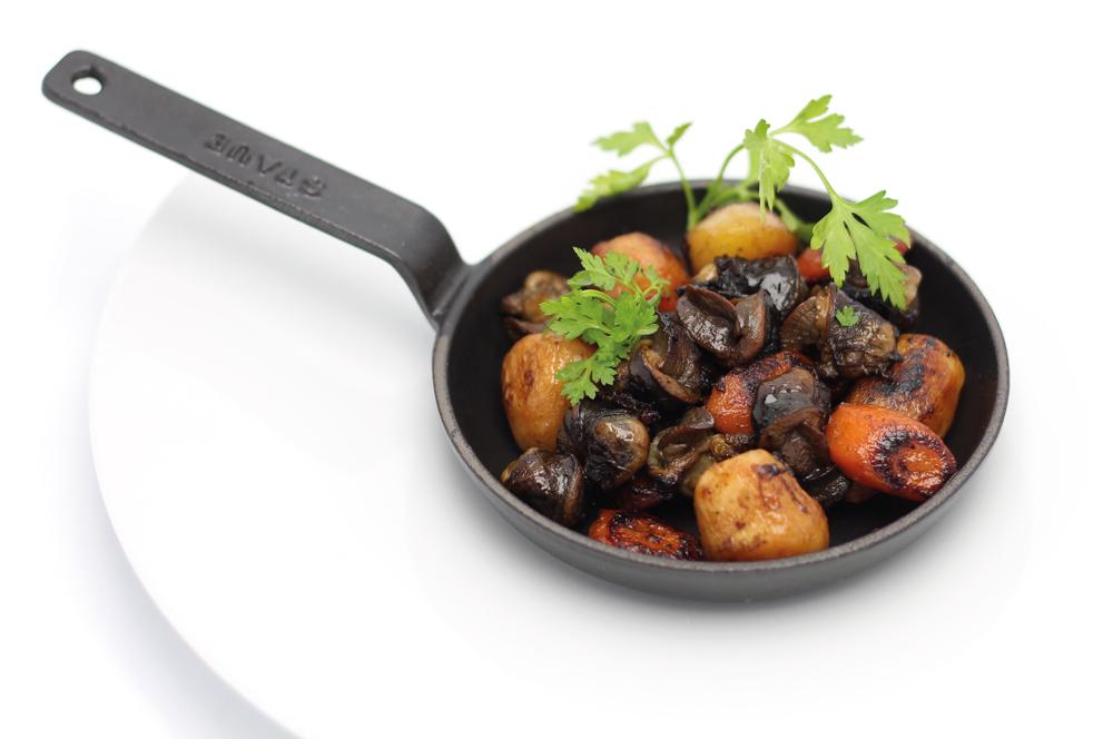 Escargots de Bourgogne aux petits légumes de Toury