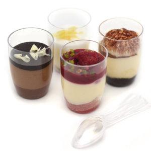 P'tits verres sucrés 4 variétés avec cuillers 36x±30g 253513 TRAITEUR DE PARIS
