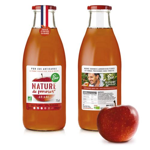 Jus de pommes Nature de Pommes