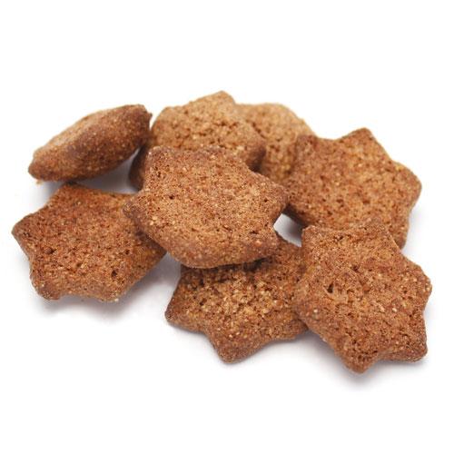Biscuits BIO sans gluten étoiles à la cannelle