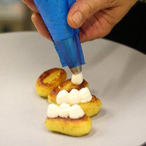 Ecrin de ratte du Touquet au caviar d'Aquitaine par Laurent Gondry