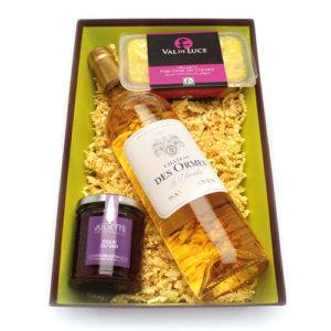 """Coffret """"Instants gourmands"""" > sauternes, foie gras et figue"""